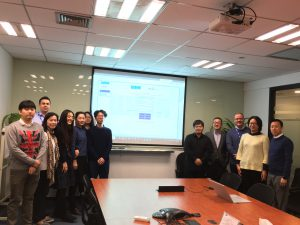 i2B go live in Shanghai China